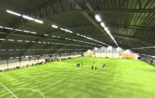 bubble football uppsala inomhus